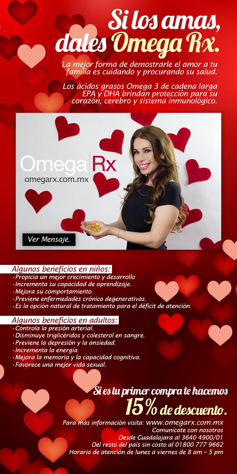 bd3678d25e8 Si los amas dales Omega Rx. – ZoneDiet México